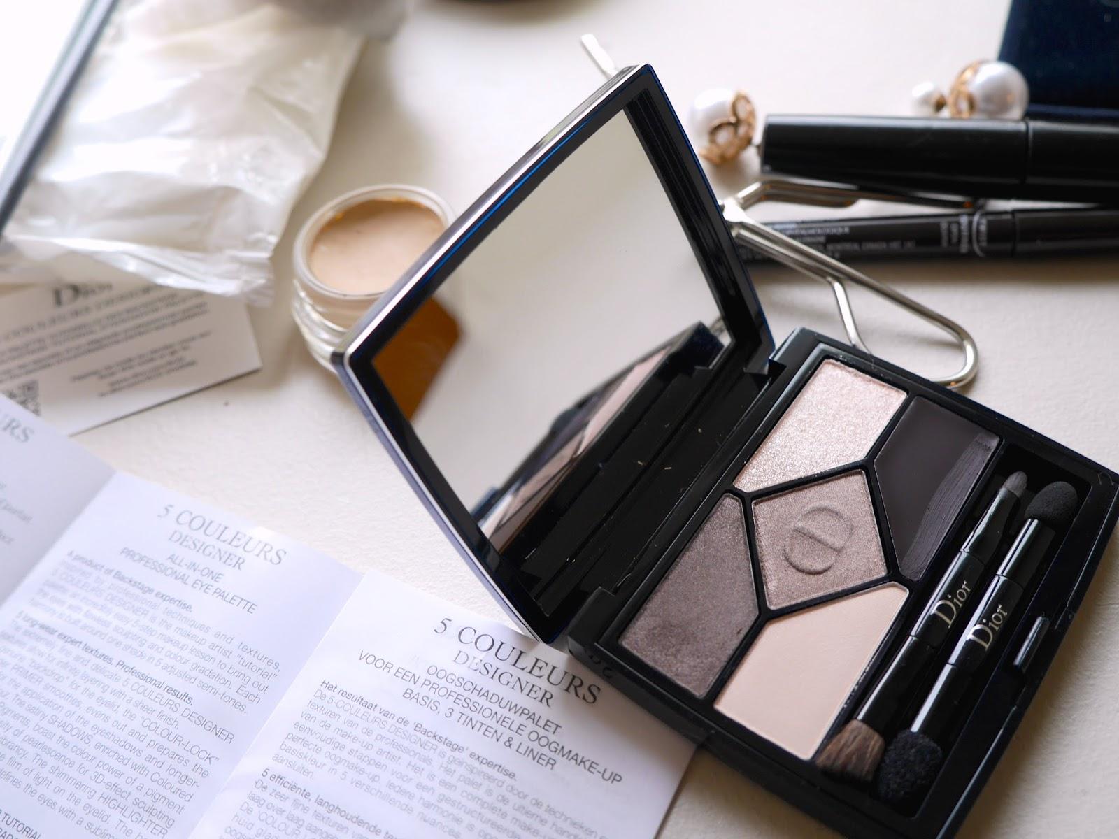 Nové očné tiene paleta od Christian Dior